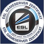 ESL Gameserver Zertifikat